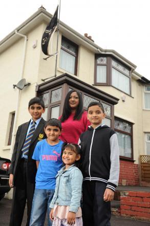 Shazia Ramzan and family