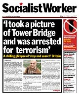 Socialist Worker Tower Bridge