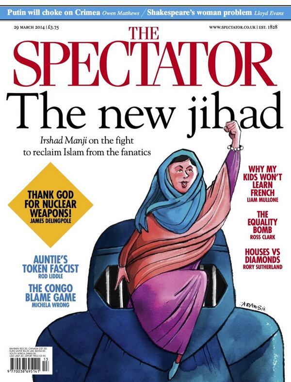 Spectator Irshad Manji cover