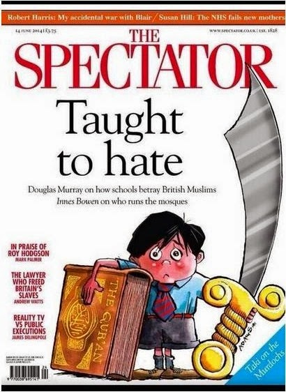 Spectator taught to hate cover