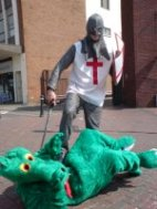St George and Dragon