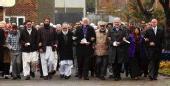 Stoke faith groups march
