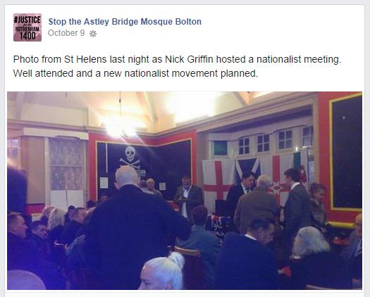 Stop the Astley Bridge Mosque Bolton backs Griffin