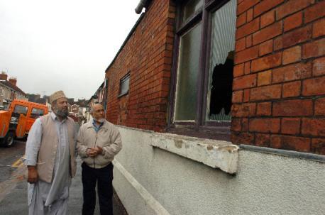 Swindon mosque vandalism