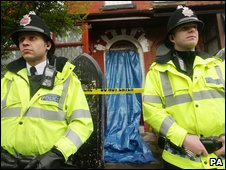 'Terror' arrests in Manchester