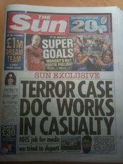 Terror case doc works in casualty