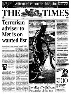 Terrorism adviser to Met headline