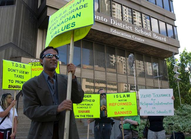 Toronto District School Board protest