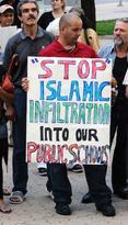 Toronto Stop Islamic Infiltration placard
