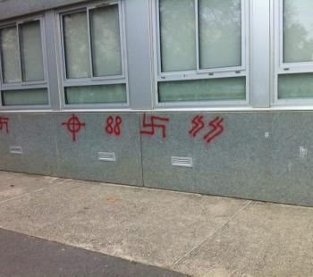 Toulouse college graffiti