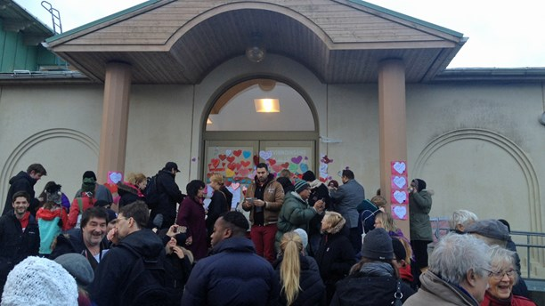 Uppsala mosque solidarity