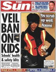 Veil Ban on Kids