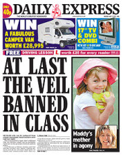 Veil Banned in Class