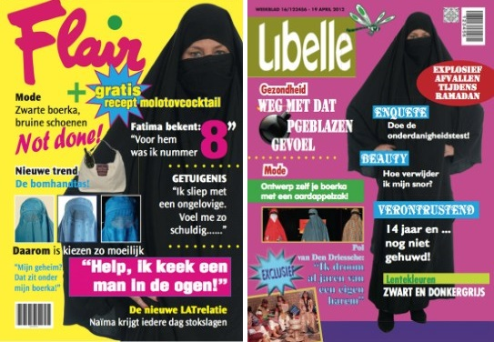 Vlaams Belang Flair and Libelle covers