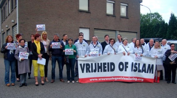 Vlaams Belang Temse anti-mosque protest