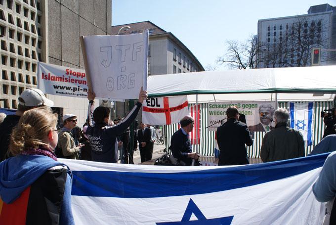 Wilders Berlin demo