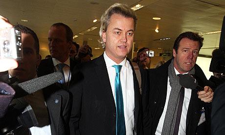Wilders at Heathrow