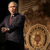 bush legion speech